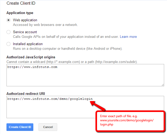 Create Login With Google Plus in Your Website With PHP