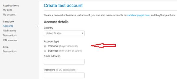 paypal2-sandbox-accounts